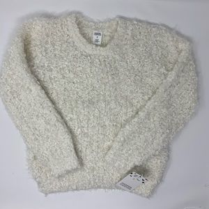 Harper Canyon ivory soft textured sweater 5